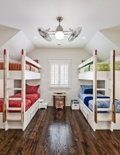 Bunk Beds in Luxury Home