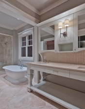 Master Bath Custom Home
