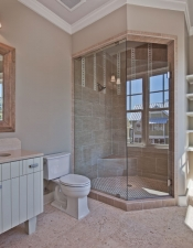 Bath and Shower Custom Home