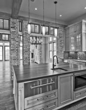 Luxury Kitchen WaterColor