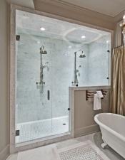 Shower in Luxury Home