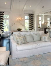 Living Area - Luxury Home Builders