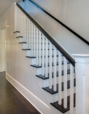 Lower Stairs - Luxury Homes