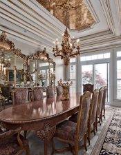 Dining Finished - Luxury Home