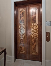 Elevator Door Luxury Home