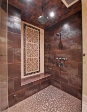 Master Shower - Luxury Homes