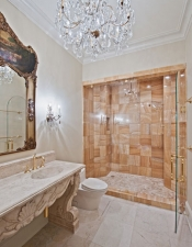 Custom Bath Shower