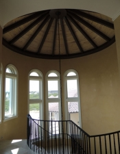 Custom Ceiling - New Home Construction on 30A