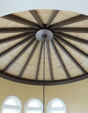 Custom Ceiling 2 - New Home Construction on 30A